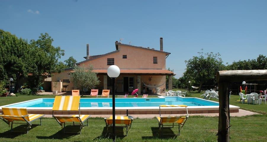 Splendida villa con piscina con 6 stanze da letto - Vignanello - Villa