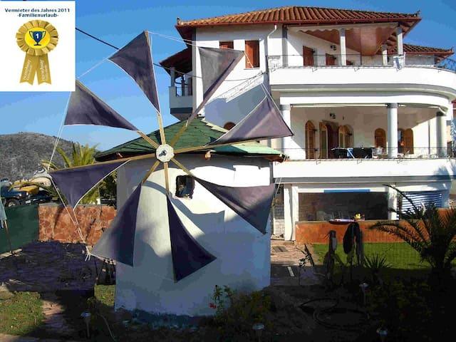 Ferienwohnung  zum wohlfühlen in Strandnähe - Ammoudia - Apartemen