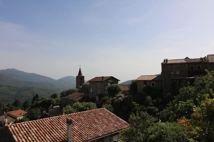 Village VERO près Ajaccio Authenticité Calme Vue - Vero - Ev