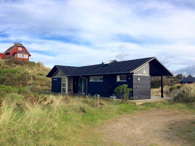 Muslingen - Moderne dansk sommerhus - Vejers Strand - Cabin