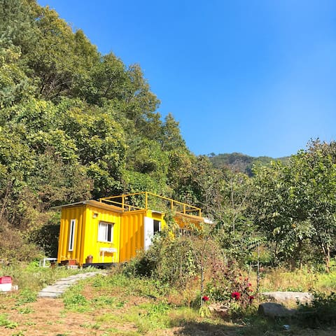 Yellow Tiny House - 연천군 - Dom