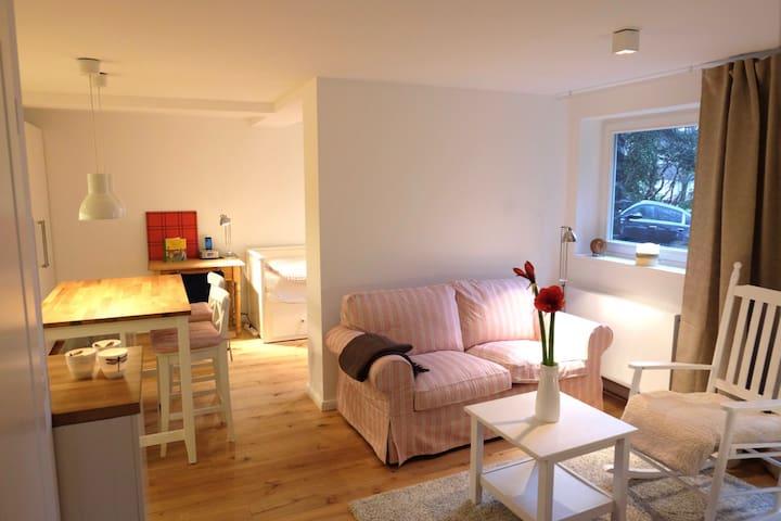 Stilvolles Apartment mit Ebike in Südstadt-Villa - Wuppertal - Apartamento
