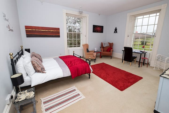 Country Manor House Retreat grade 2 listed. - Dorchester - Bed & Breakfast