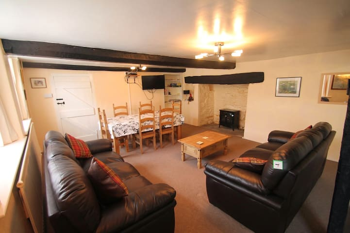 Holiday Cottage in Doone Valley, Oare, sleeps 4 - Malmsmead - Huis