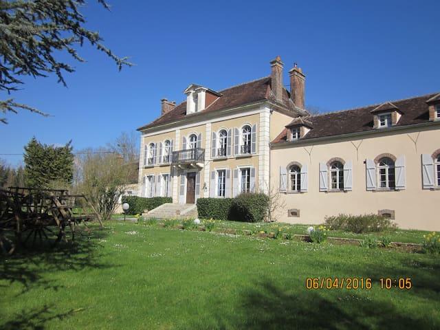 Chambre d'hotes entre Chablis et Auxerre (verte) - Venoy