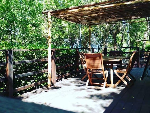 Accogliente casa mobile nel verde del parco - Gabicce Mare - Бунгало