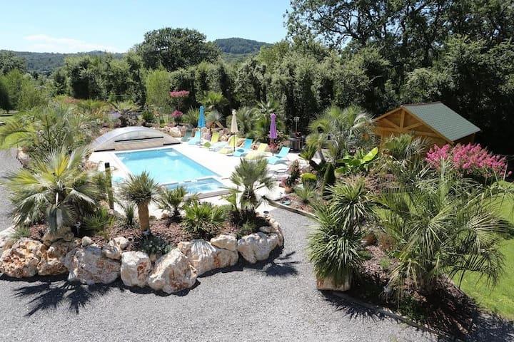 Villa Domaine l'Oasis de Boisset 5 étoiles - Boisset-et-Gaujac - 別荘