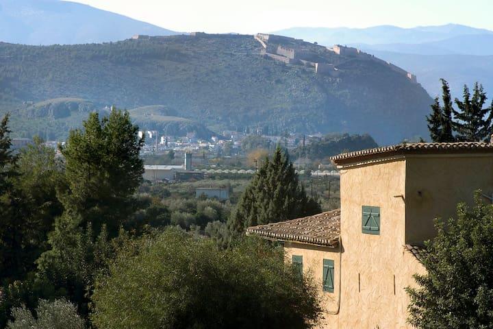 Dokoly Estate. A House for All Seasons. - Argolis - Villa