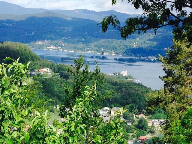 Herrlicher Ausblick im 3 Seental - Keutschach am See - Departamento
