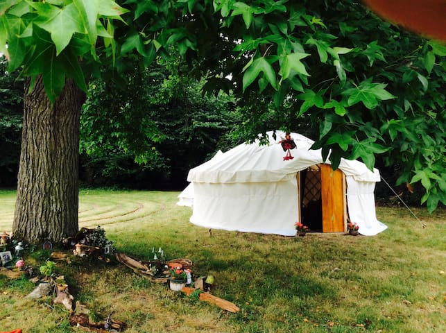 Gorgeous Luxury Yurt close to Glastonbury Festival - East Pennard