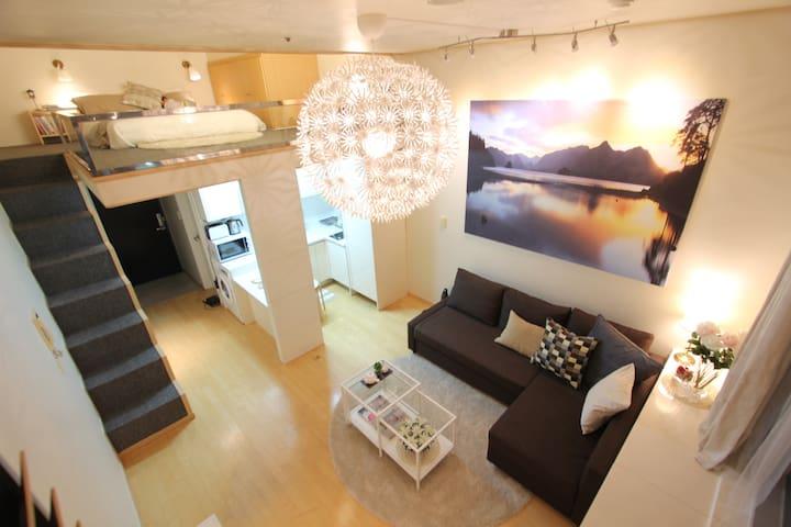 ☆Sale☆Your Own Fantastic City View-Subway 1step - Bucheon-si - Квартира