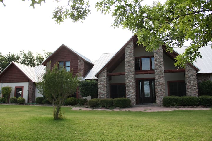Escape to the country at Bethel Ranch - Whitewright - Naturstuga