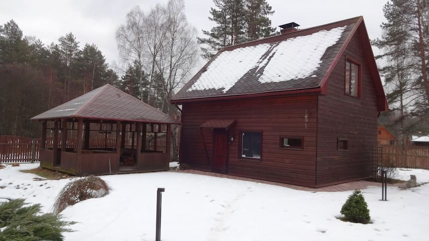 Nice private home in quiet place - Garkalne - Hus