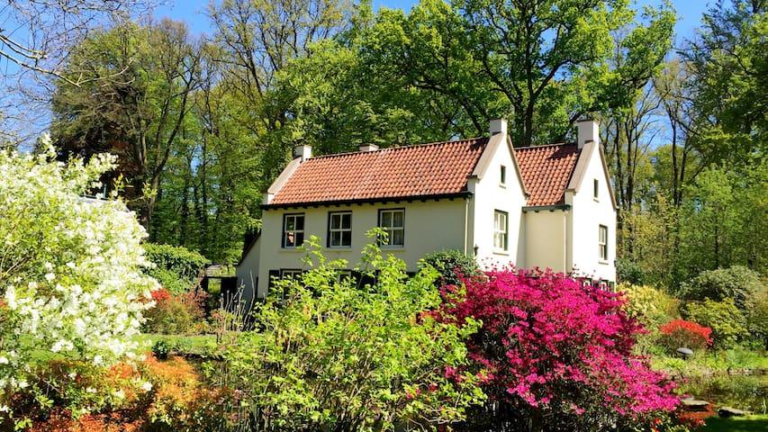 Villa Forestier in Breda, top forest location - Breda - Villa
