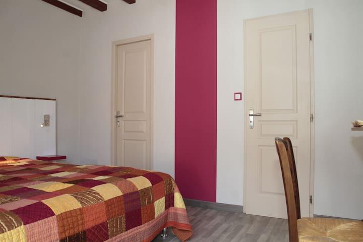 Chambre d'hôte Chez Claudine - Rennes-sur-Loue - Bed & Breakfast