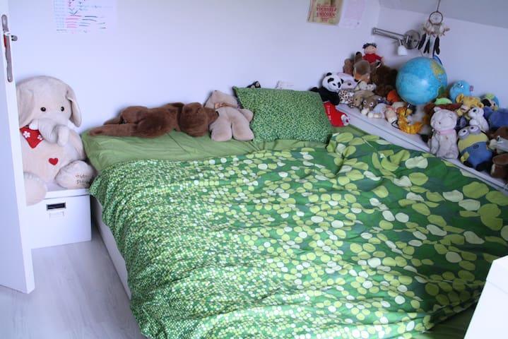 Room double bed in Boom near TML - Boom - Bed & Breakfast