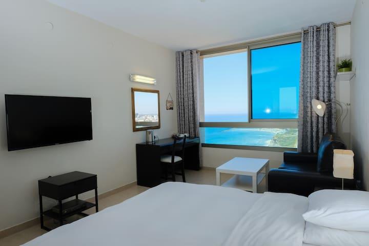 Beautiful Apartment with Sea View - Netanya - Apartamento