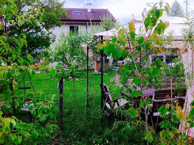 Ruheoase mit Garten Nähe Thunersee - Thun - Hus