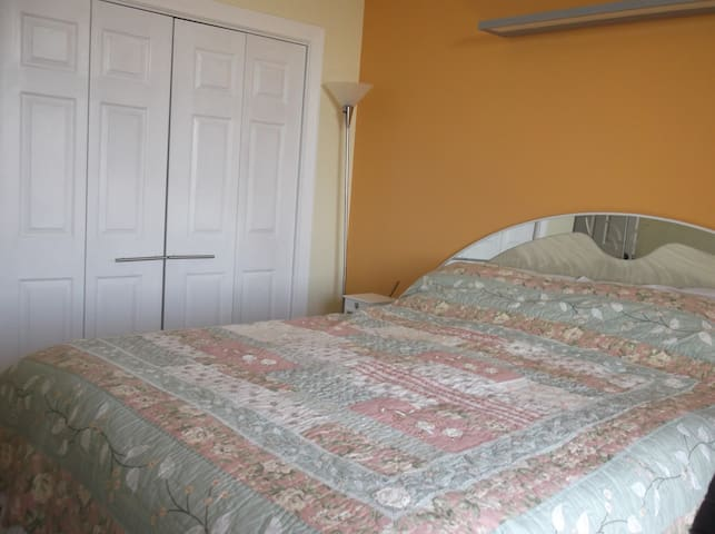 Private Room with Queen Bed near ORD - Wood Dale - Wohnung