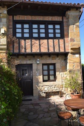 Casa rural  con jardín entre Oyambre y Comillas. - Larteme - Maison