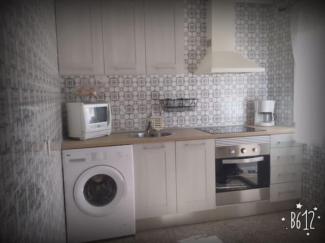 Luminoso y tranquilo apartamento en zona centro. - Alcalá de Henares - Daire