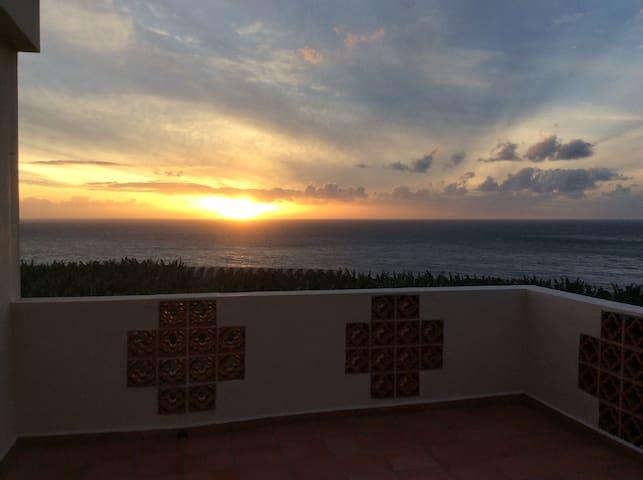 Stunning sea views, whole top floor, roof terrace - Tazacorte - Дом