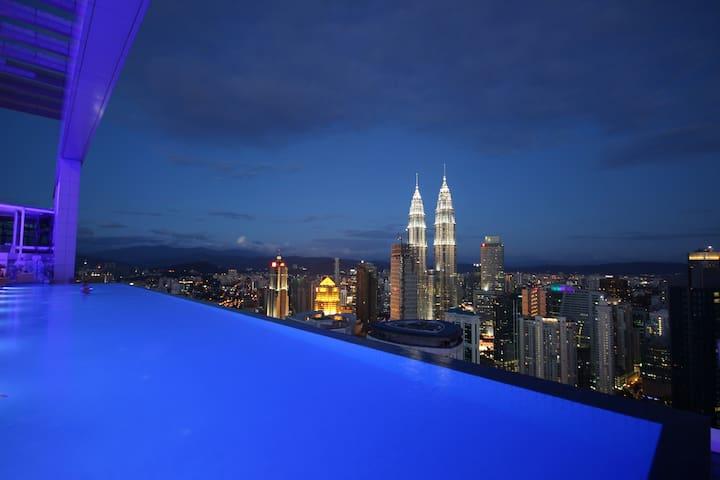 the face suite_platinum - Kuala Lumpur - Betjent leilighet