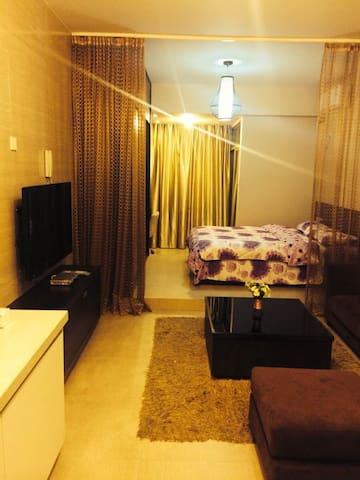 博士后实木单身公寓套房 - Fuzhou - Appartement