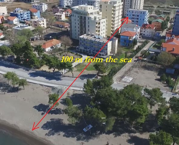 Holiday apartments in the seaside near the beach - Shëngjin - Appartement