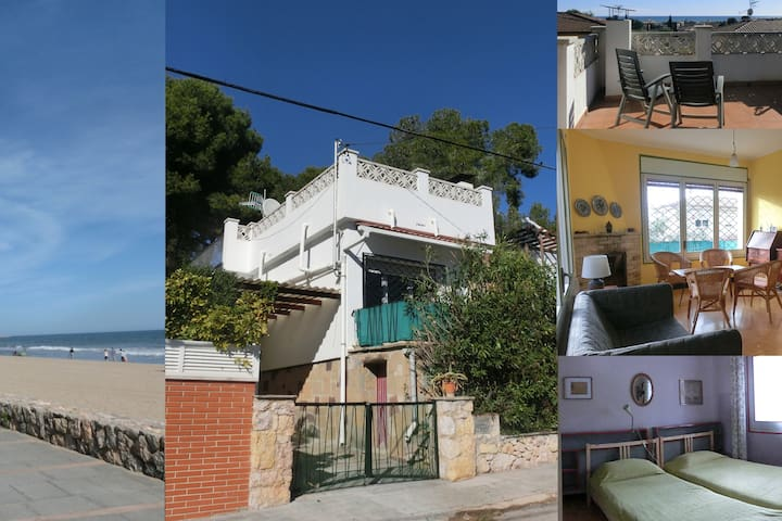 Cozy 3 bedroom detached house with roof terrace - Calafell