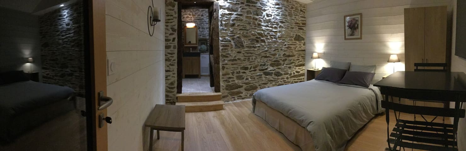 Chambre double confort - Guignen - Szoba reggelivel