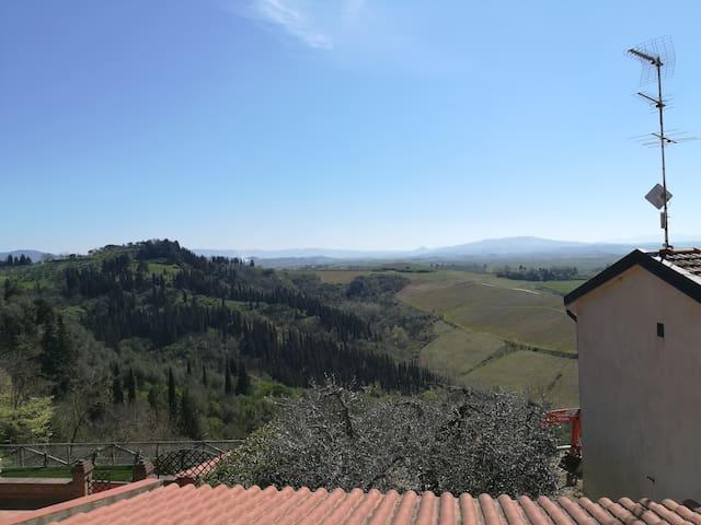 appartamento nel cuore della Toscana. - Peccioli - Appartement