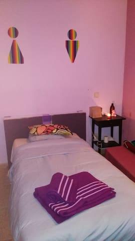 Habitación de vistas espectaculares en Nana's HOME - Colmenar Viejo - Bed & Breakfast