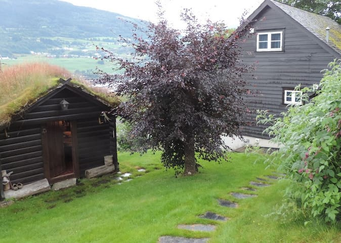 Studio with a view and log cabin - Vossevangen - Apartmen