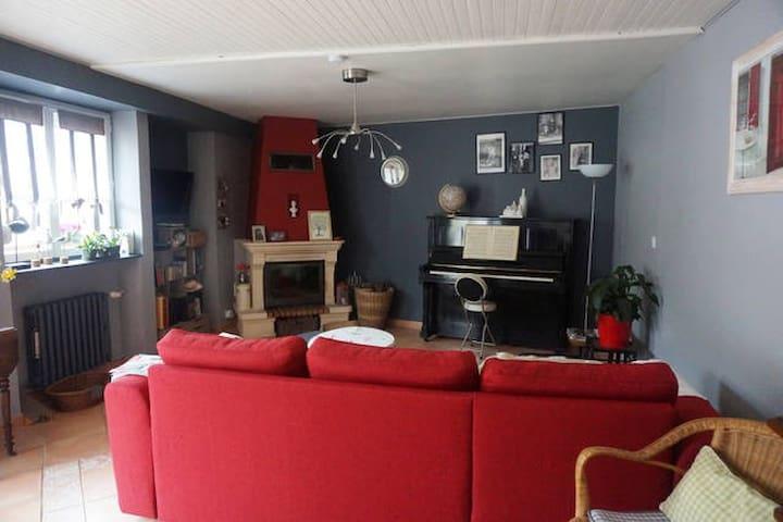 Jolie chambre dans maison, plein cœur de Tréguier - Tréguier - Huis