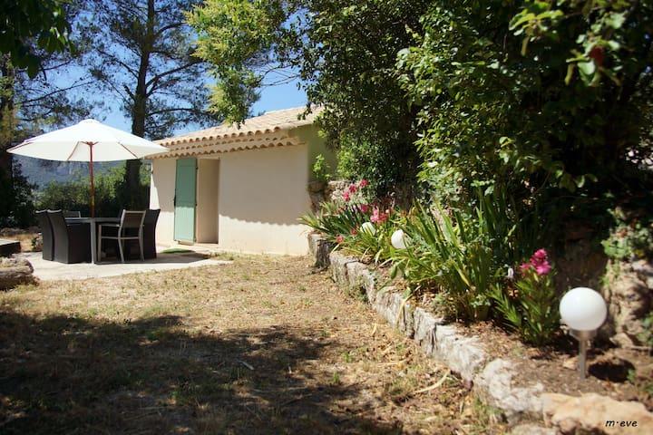 Véritable Cabanon Provençal en pierre restauré. - Saint-Zacharie - Dom