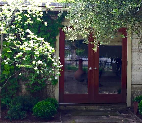 Private Napa Valley garden studio - Calistoga - Pokój gościnny
