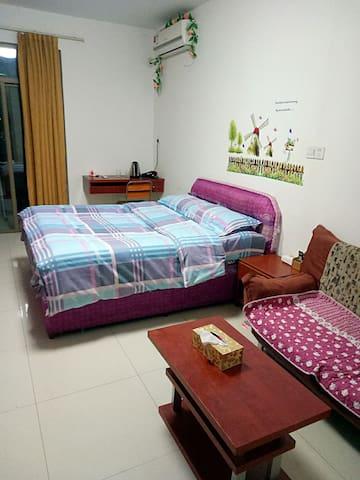闽侯大学城福大东门博士后购物广场单身公寓 - Fuzhou Shi - Appartement