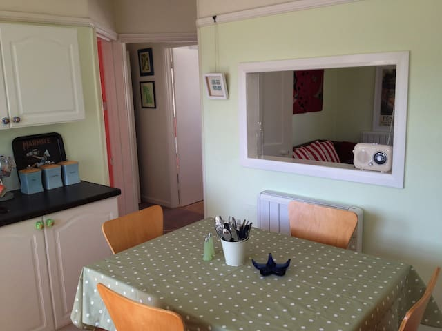 Jubilee Flat, central, bright and cheerful - Penzance - Lägenhet