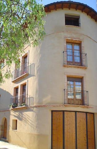 """Apartartamento """"As Peñas Bllancas"""". Casa Plana - Colungo - Departamento"""