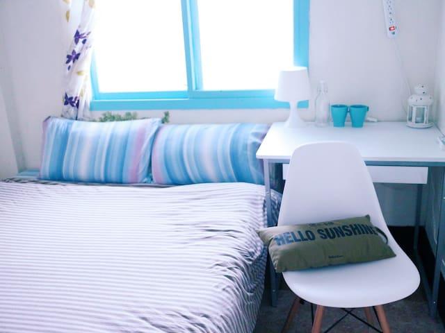 Taipei 5 mins to MRT, cozy room, Shilin clean - Shilin District - Apartament