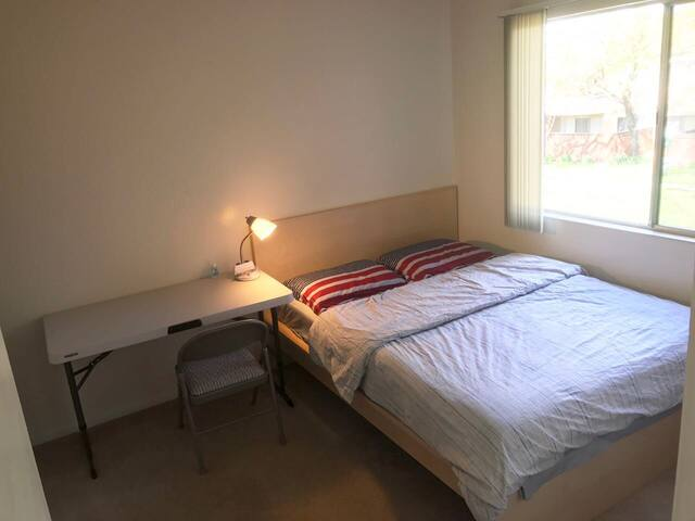 1 of 2 Apt bedroom 公寓单间 - Union City - Huoneisto