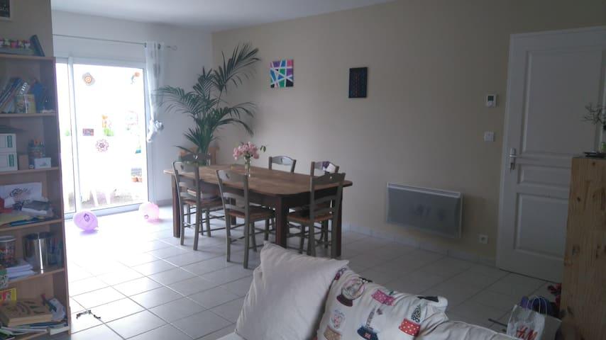 Chambre à 5 min de A10 et A83 proche Niort - Chauray
