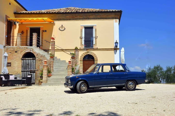 Casa Antica, FEWO Sole - Castilenti - Lägenhet