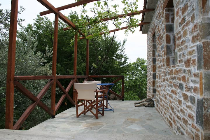 small beautiful house near the sea - Chorefto - Cabane