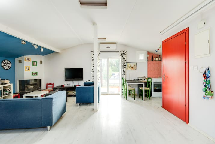 Delightful and sunny studio apartment - Stavroupoli - Haus