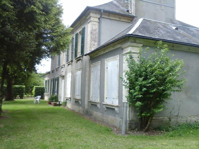 La Blanche - Wohnung in renoviertem Herrenhaus - La Cambe - Leilighet