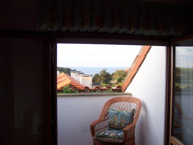 Duplex acogedor con vistas al Mar Cantábrico - Pechón - Appartement