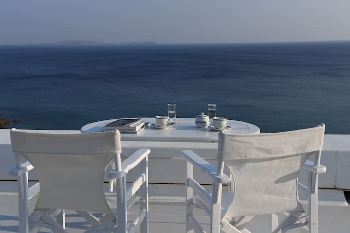 Villa Lia (50 meters from a private beach) - Tinos
