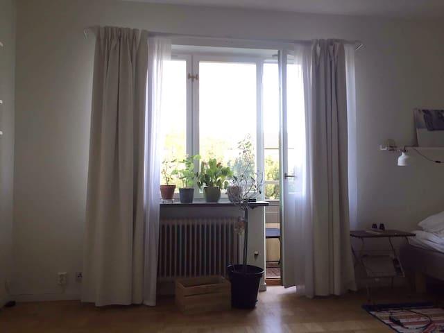 Mysig lägenhet nära Lund C. - Lund - Departamento